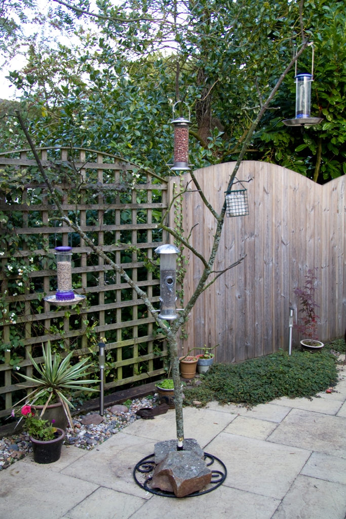 Make your own tree bird feeder for Build your own tree stand